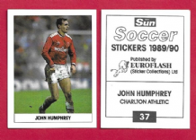 Charlton Athletic John Humphrey 37